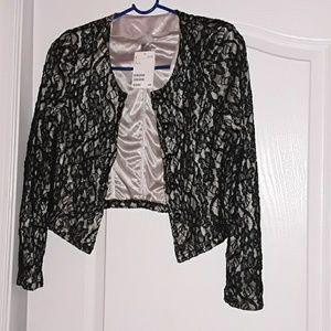 H&M lace jacket